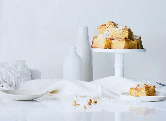 White Chocolate Cheesecake Blondie